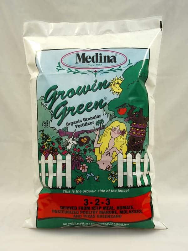 Medina Growin Green 3-2-3 – Medina Agriculture Products